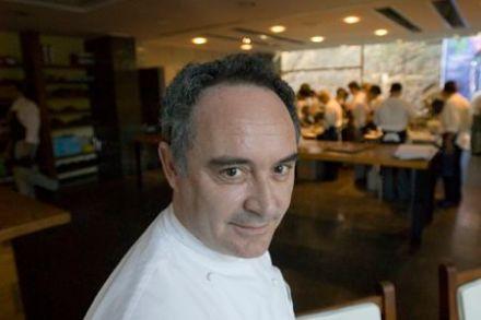Ferran Adrià at the restaurant El Bulli